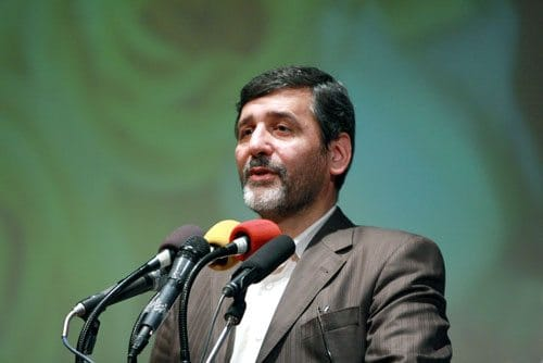 The former Minister of Culture and Islamic Guidance of Iran, Hossein Saffar Harandi