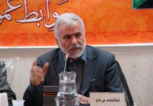 Avaz Heydarpour, member of the Majlis National Security and Foreign Policy Committee