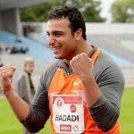 Ehsan Hadadi, Iranian discus thrower