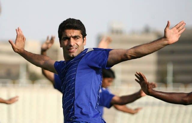 Kianoush Rahmati, defensive midfielder of Esteghlal FC