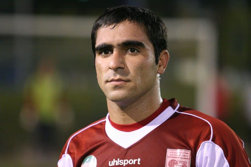 Mehdi Kiani, the current midfielder of Tractor Sazi Tabriz