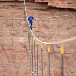 Stepping Into History With Record High Wire Walk