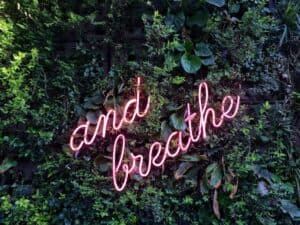 breathing neon sign